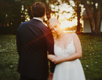 Eastern Shore Wedding Photography Rustic golden hour