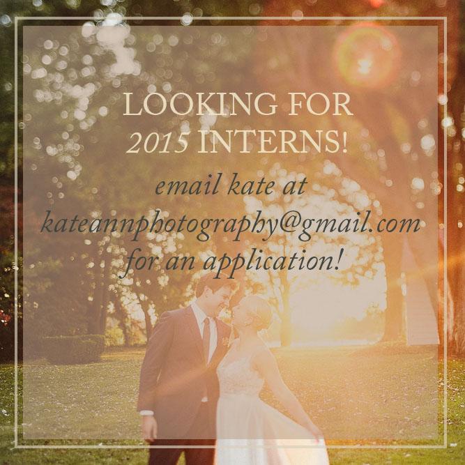 Maryland Wedding Photography Internship