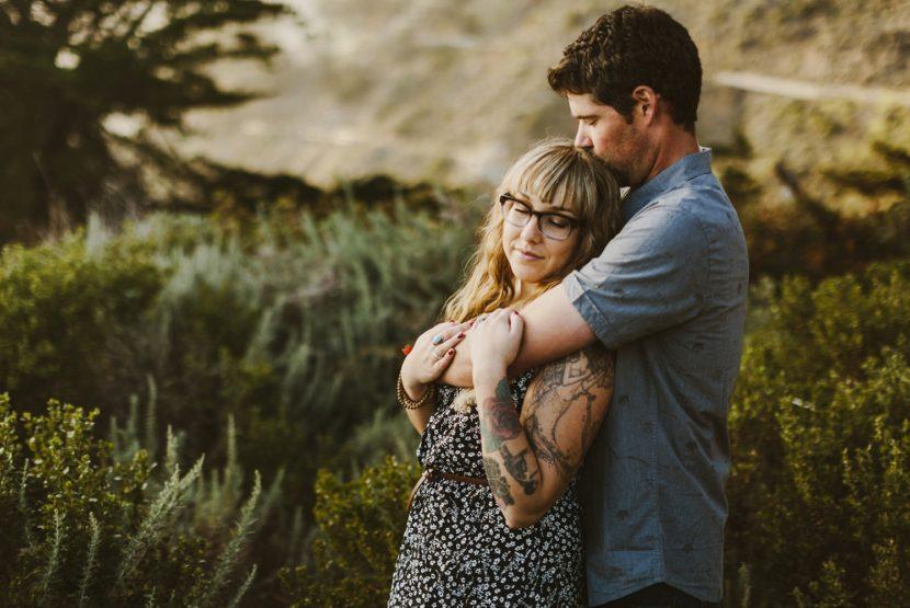 Big Sur Engagement California Wedding Fine Art Photographer Kate Ann Photography Earthy Rustic