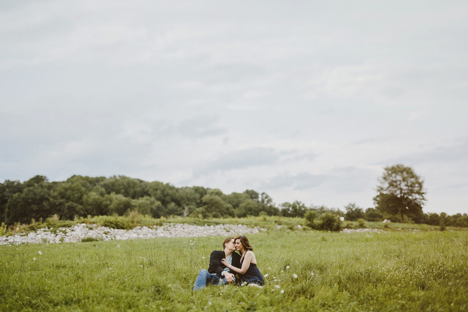 Sunset Baltimore Engagement Session by Maryland Fine Art Wedding Photographer Kate Ann Photography