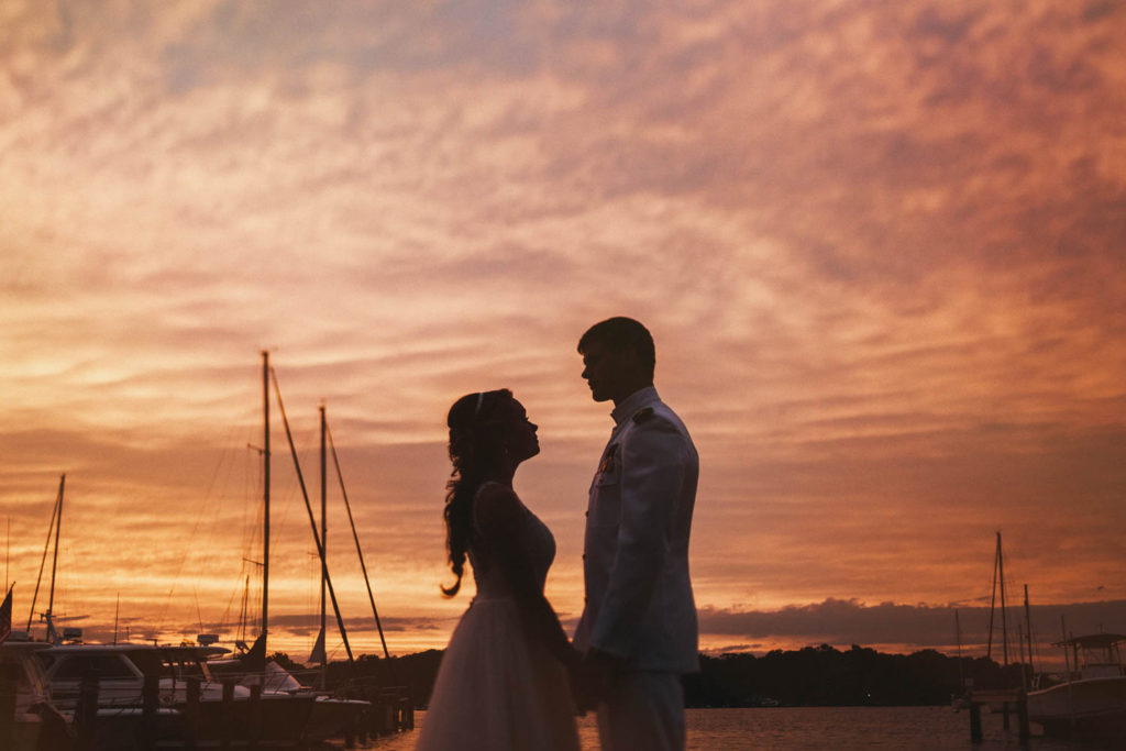 Navy Academy Wedding by Annapolis Maryland Wedding Photographer Kate Ann Photography