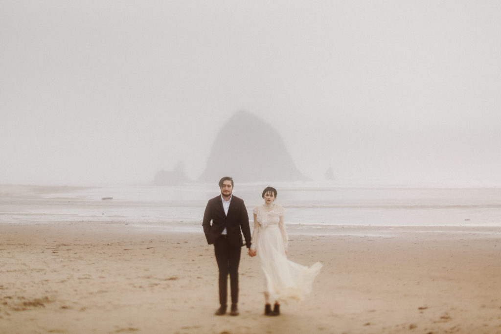 Portland Cannon Beach Wedding by Maryland Wedding Photographer Kate Ann Photography