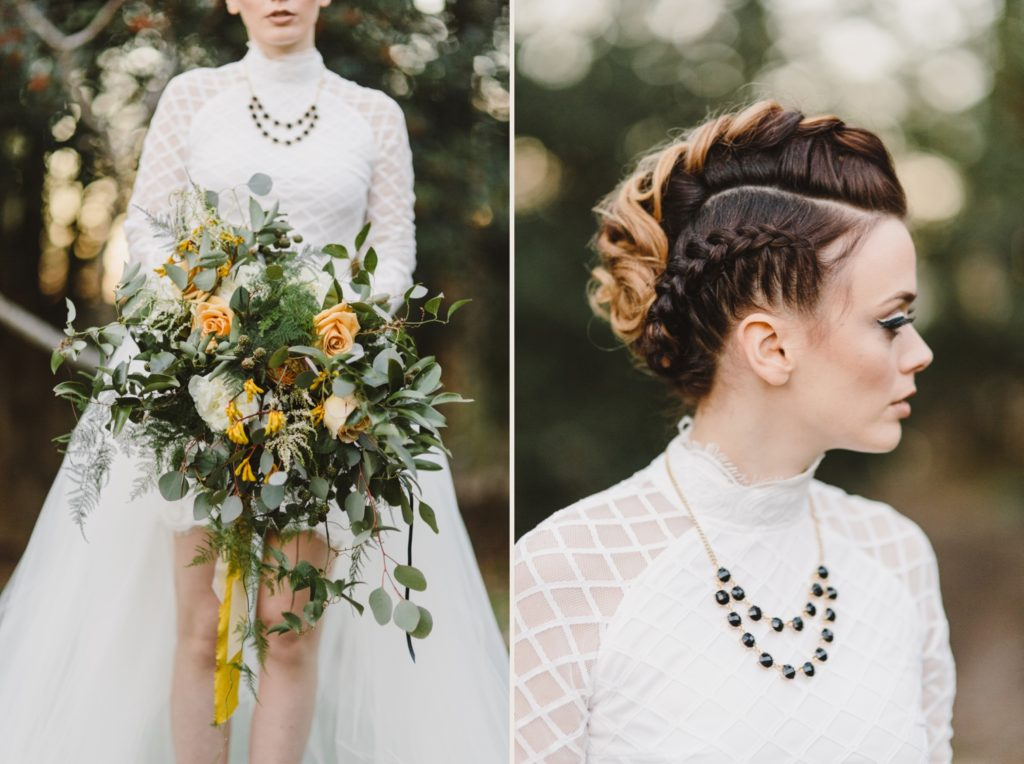 Edgy  Elopement | Mohawk | Annapolis Maryland | Kate Ann Photography