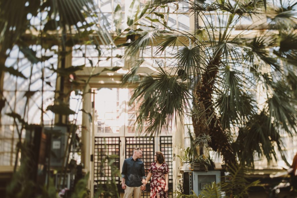 Baltimore Maryland Greenhouse Engagement Session   by Wedding Photographer Kate Ann Photography   Rawlings Conservatory
