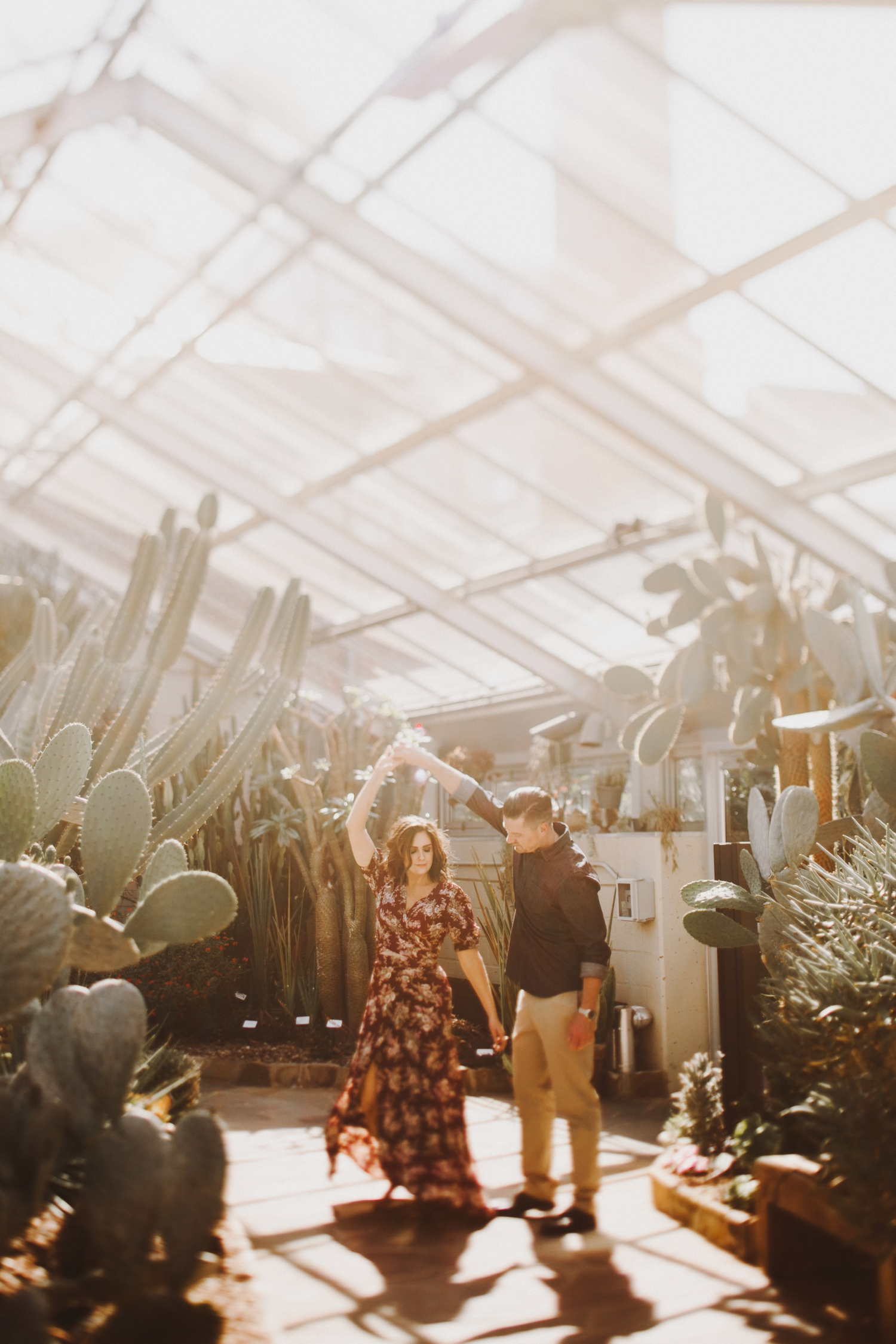 Greenhouse Baltimore Engagement Kate Ann Photography