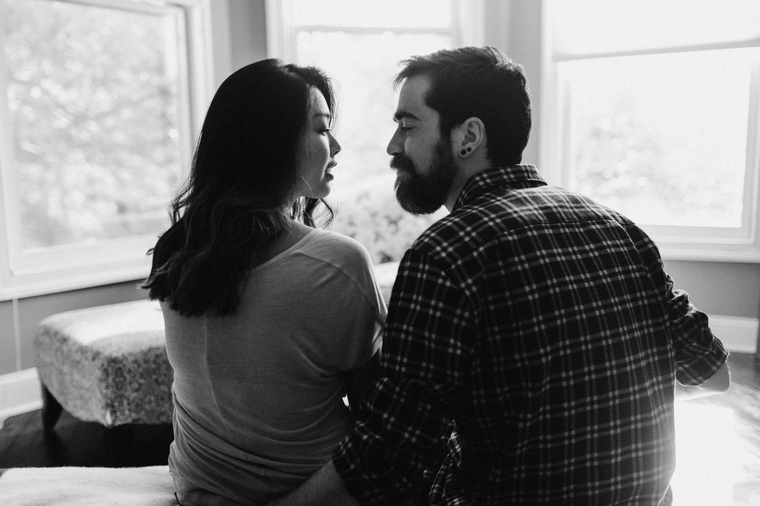 Baltimore - Maryland - In- Home - Engagement - Session - Hipster - by - Wedding - Photographer - Kate - Ann - Photography - Photo_0037