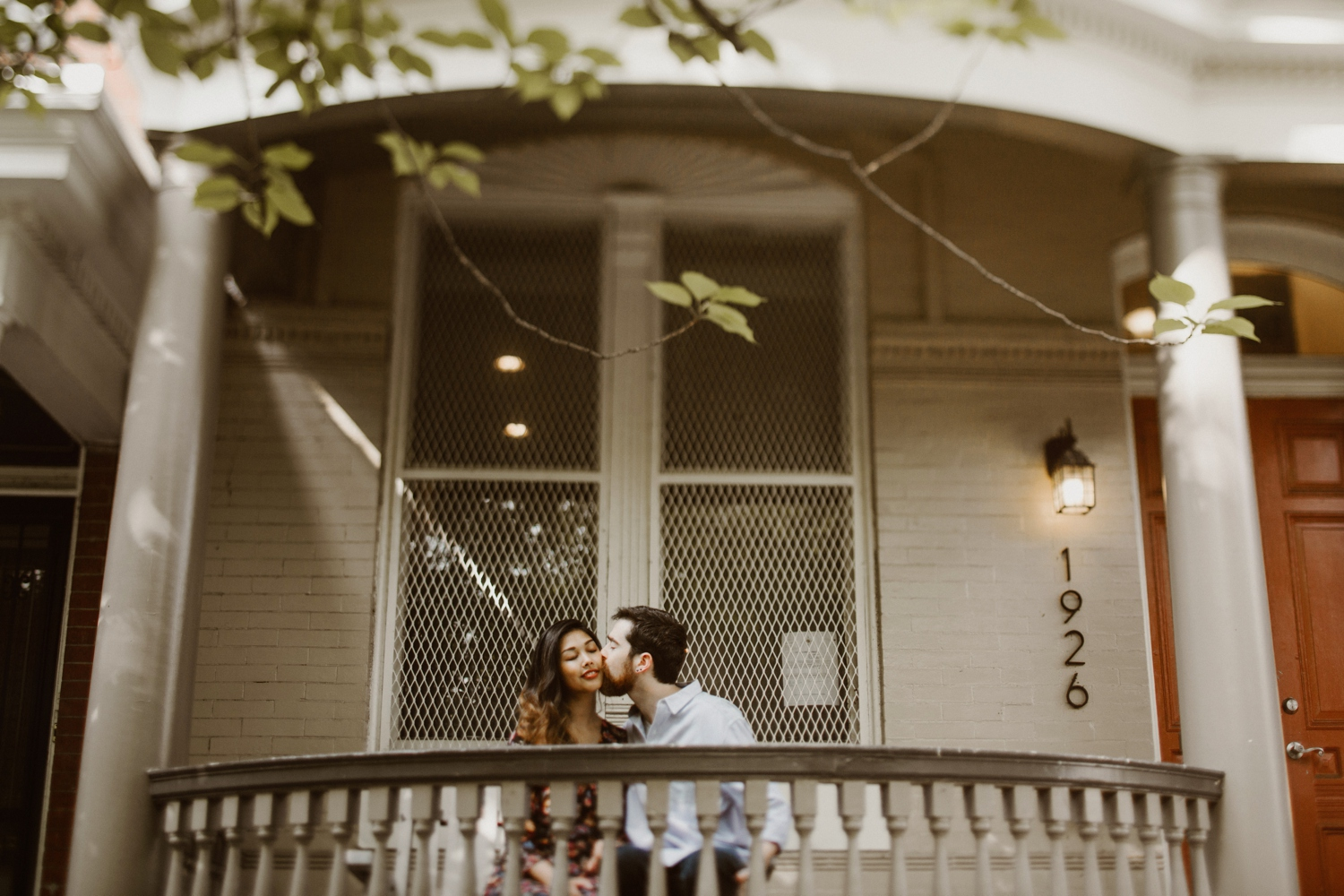 Baltimore - Maryland - In- Home - Engagement - Session - Hipster - by - Wedding - Photographer - Kate - Ann - Photography - Photo_0045