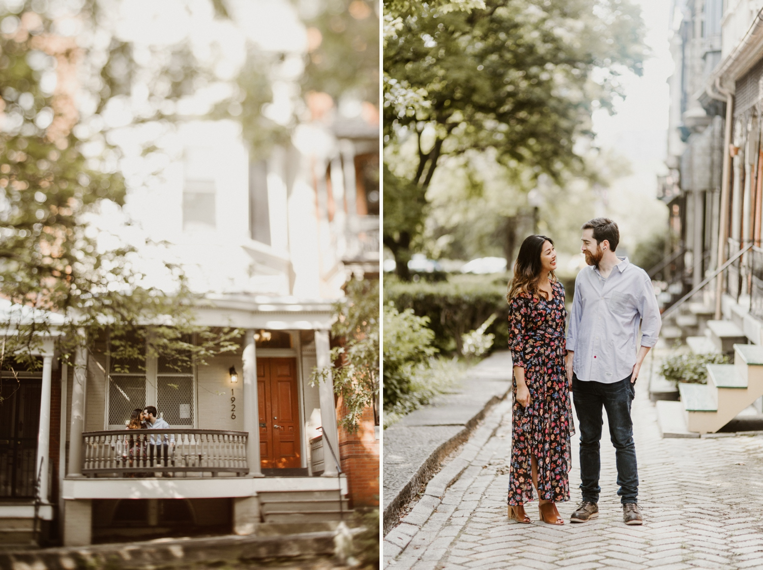 Baltimore - Maryland - In- Home - Engagement - Session - Hipster - by - Wedding - Photographer - Kate - Ann - Photography - Photo_0047