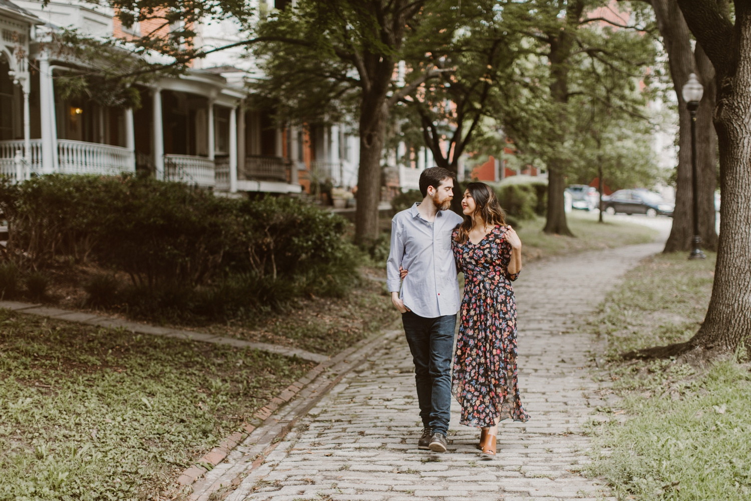 Baltimore - Maryland - In- Home - Engagement - Session - Hipster - by - Wedding - Photographer - Kate - Ann - Photography - Photo_0048