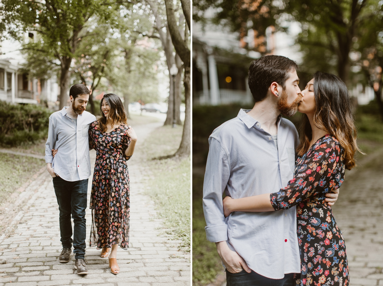 Baltimore - Maryland - In- Home - Engagement - Session - Hipster - by - Wedding - Photographer - Kate - Ann - Photography - Photo_0052