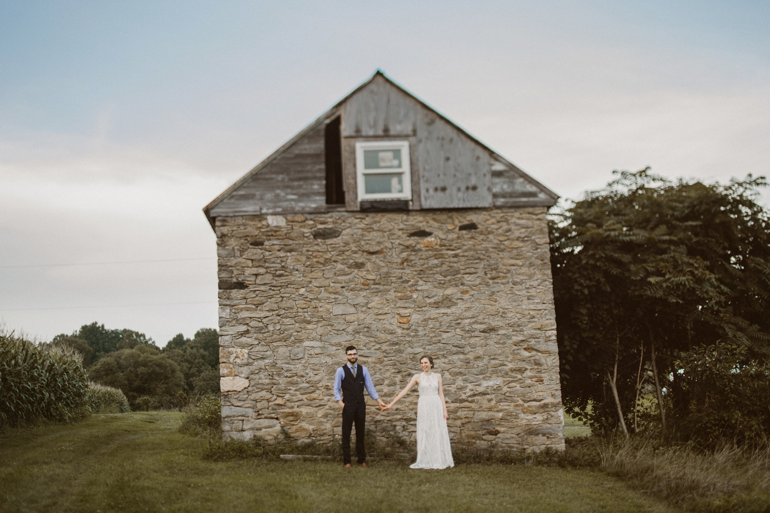 Baltimore - Maryland - Farm - Elopement - Wedding - by - Kate  - Ann - Photography_ Photo_0036