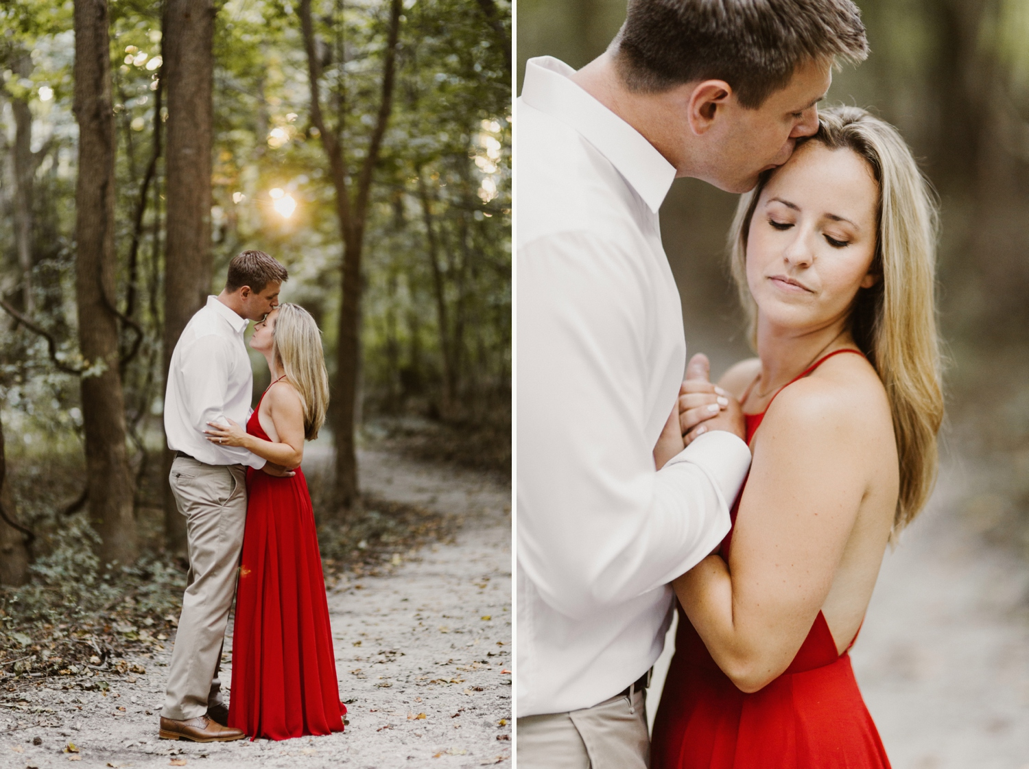 baltimore-maryland-forest-sunset-engagement-session-red-dress-annapolis-kate-ann-photography-photo_0099