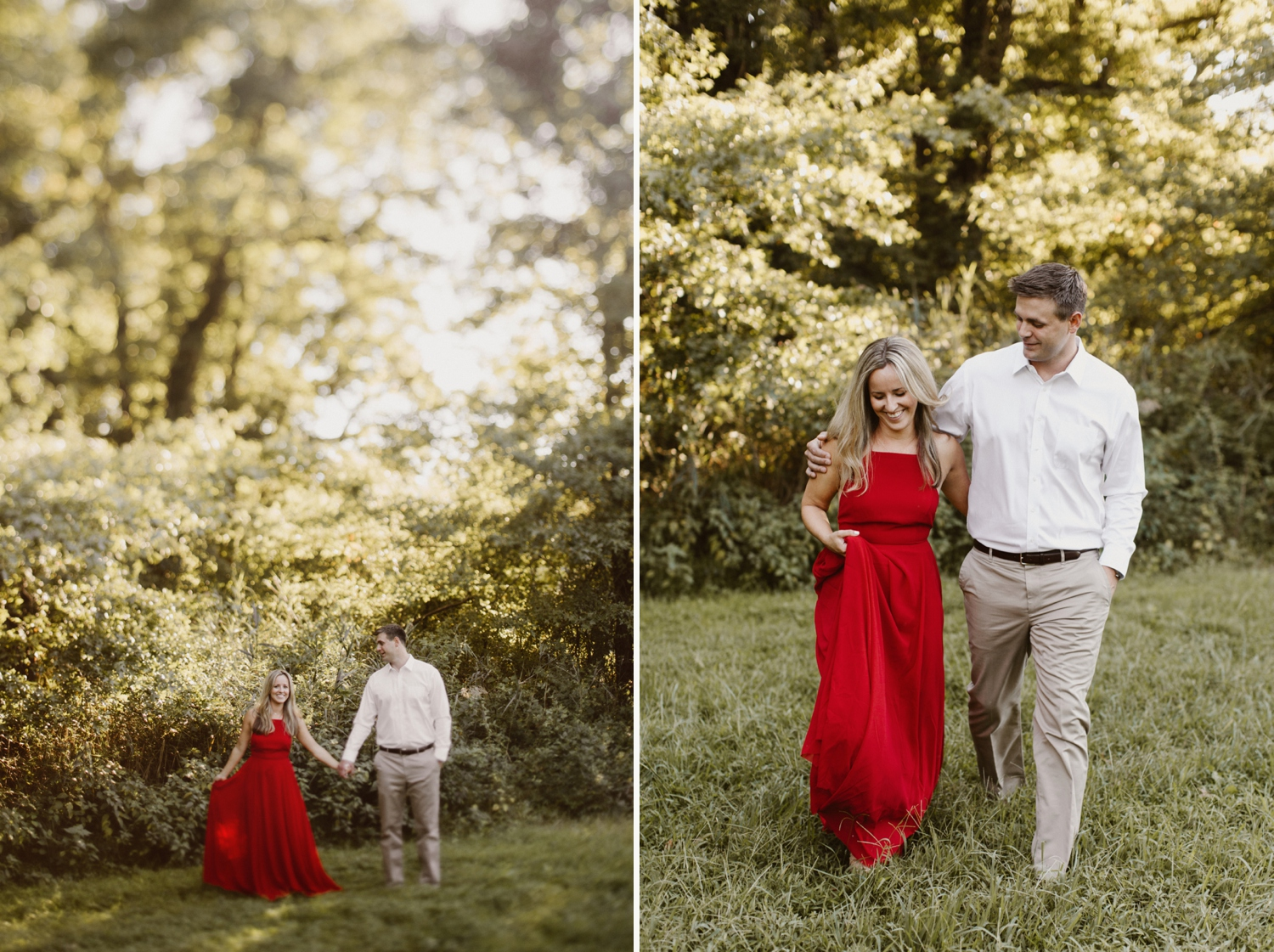 baltimore-maryland-forest-sunset-engagement-session-red-dress-annapolis-kate-ann-photography-photo_0103