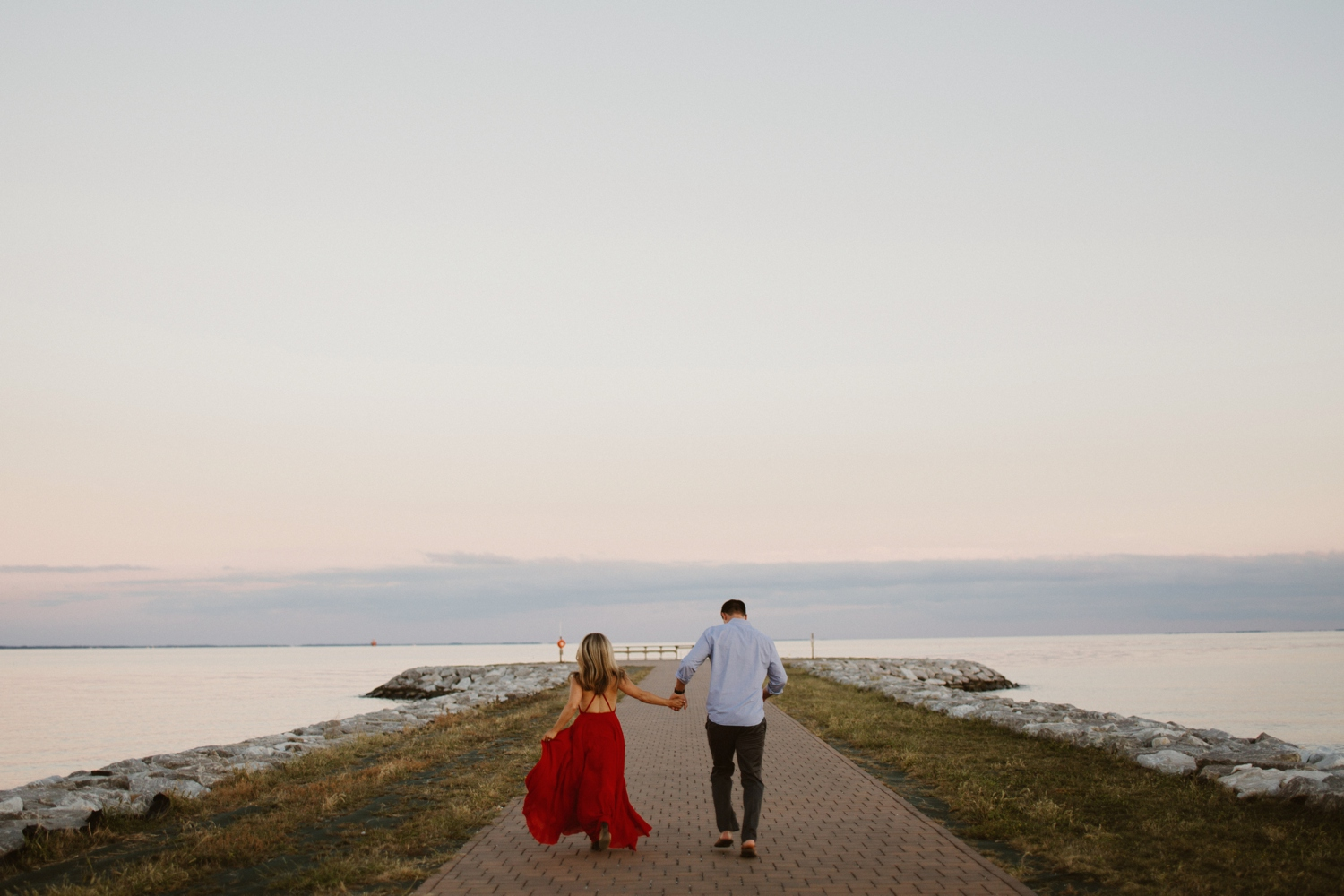 baltimore-maryland-forest-sunset-engagement-session-red-dress-annapolis-kate-ann-photography-photo_0109