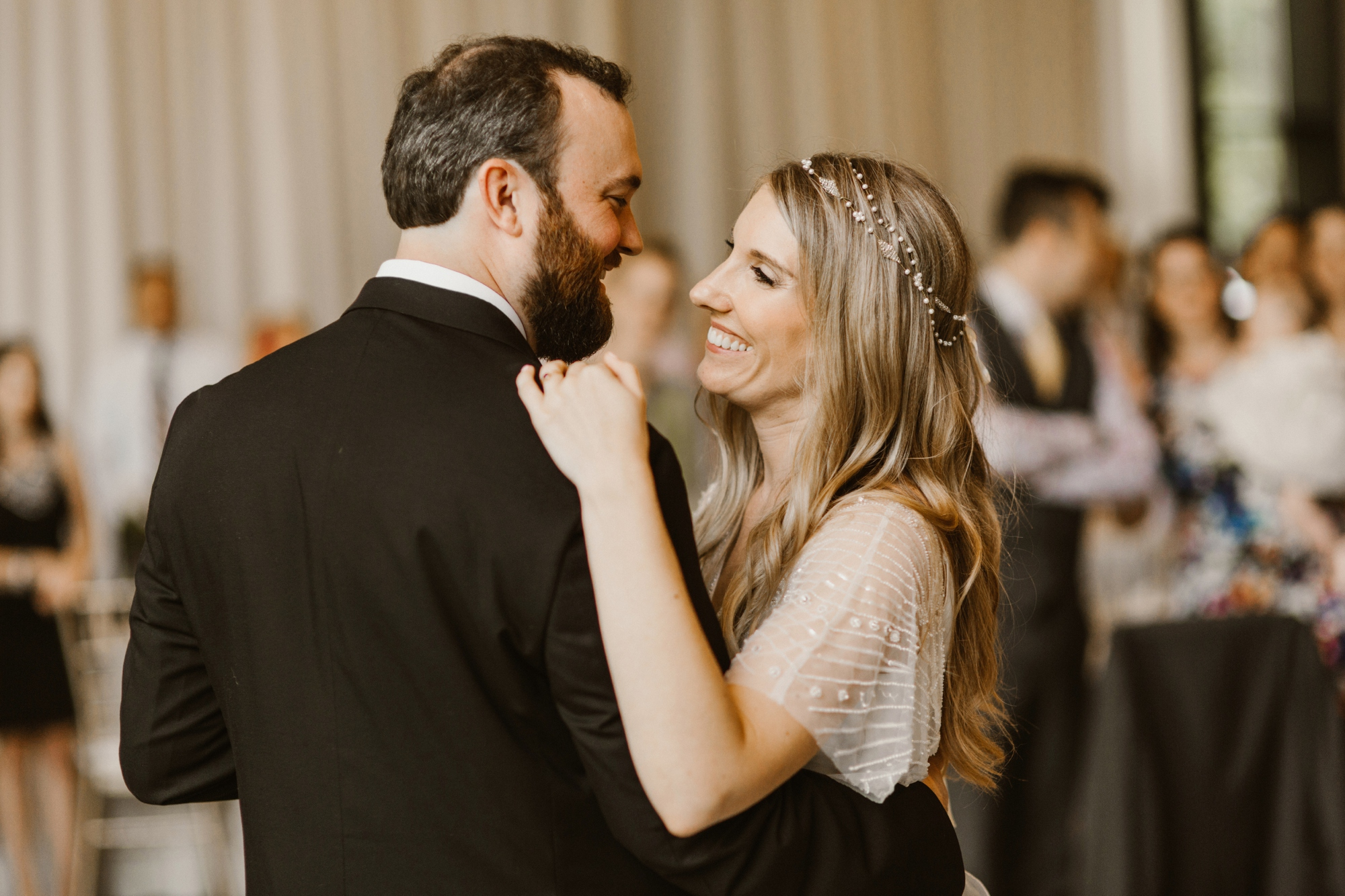 Cylburn Arboretum Wedding | by Baltimore, Maryland Photographer Kate Ann Photography | First Dance
