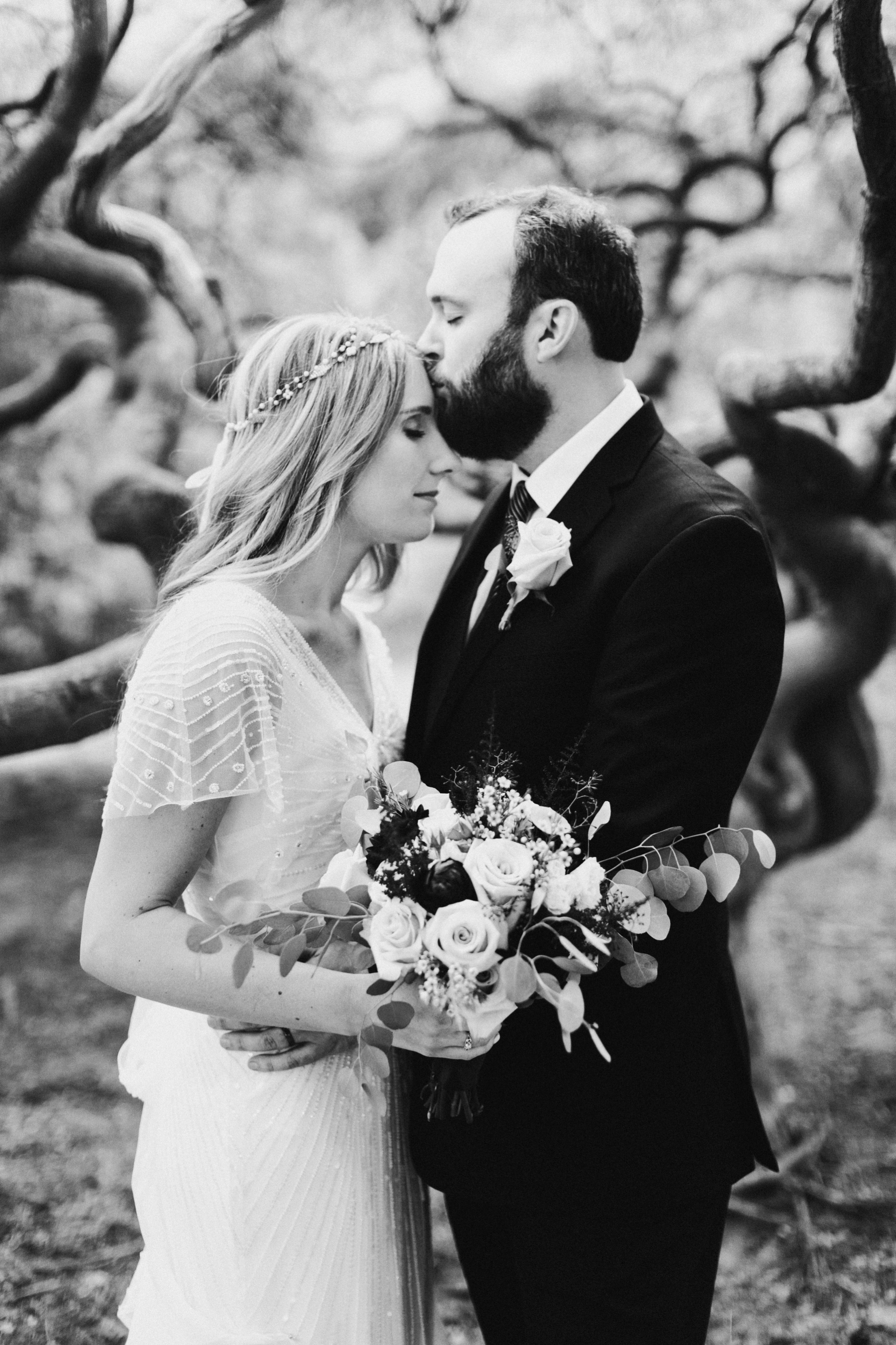 Cylburn Arboretum Wedding | by Baltimore, Maryland Photographer Kate Ann Photography | Earthy Boho Wedding