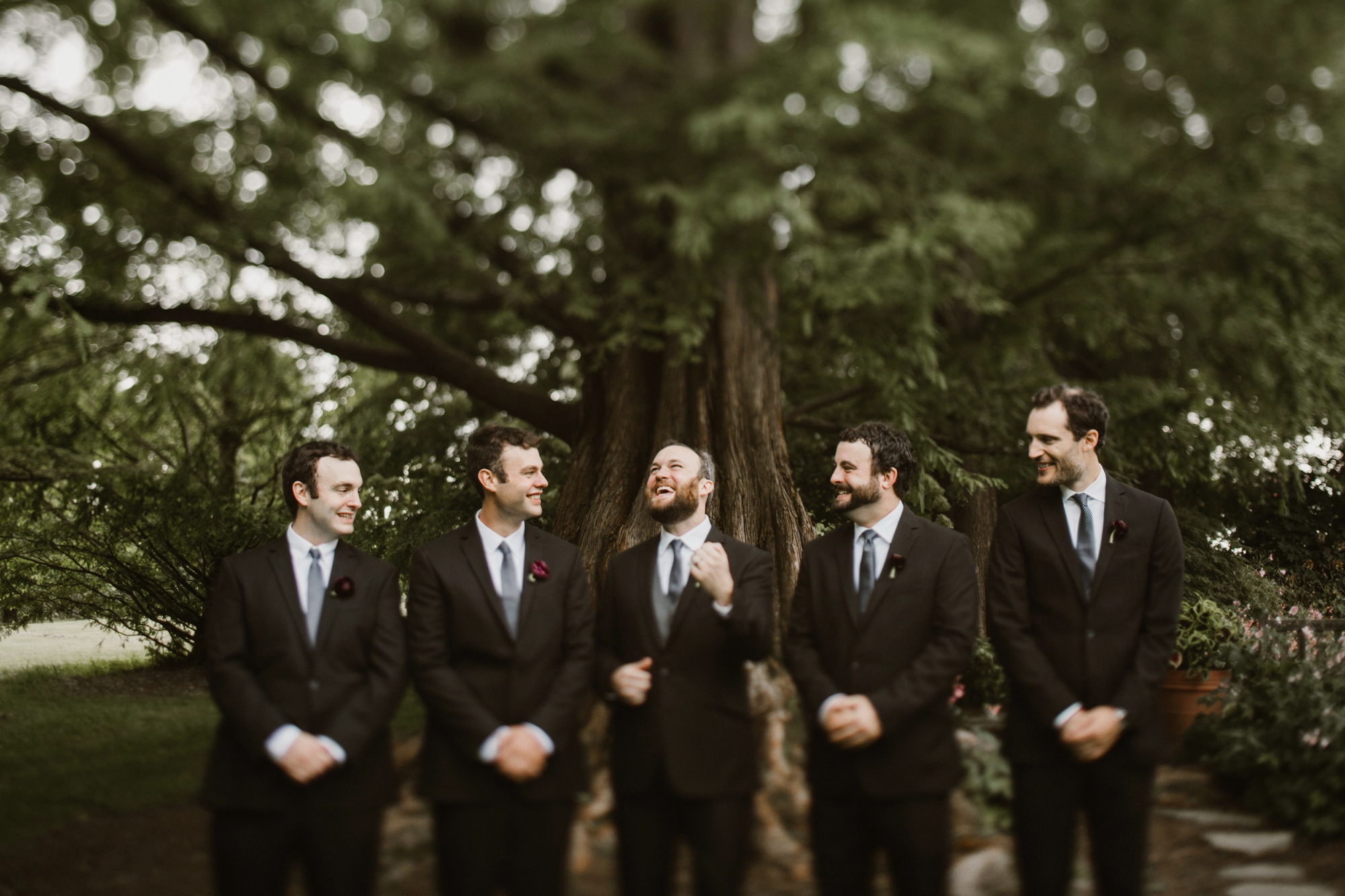 Cylburn Arboretum Wedding | by Baltimore, Maryland Photographer Kate Ann Photography | Groomsmen