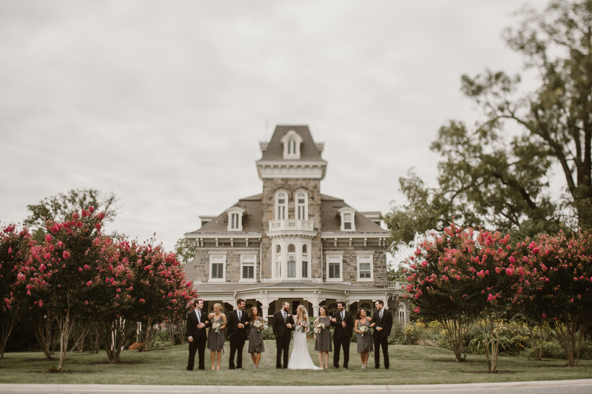 Cylburn Arboretum Wedding | by Baltimore, Maryland Photographer Kate Ann Photography | Bridal Party