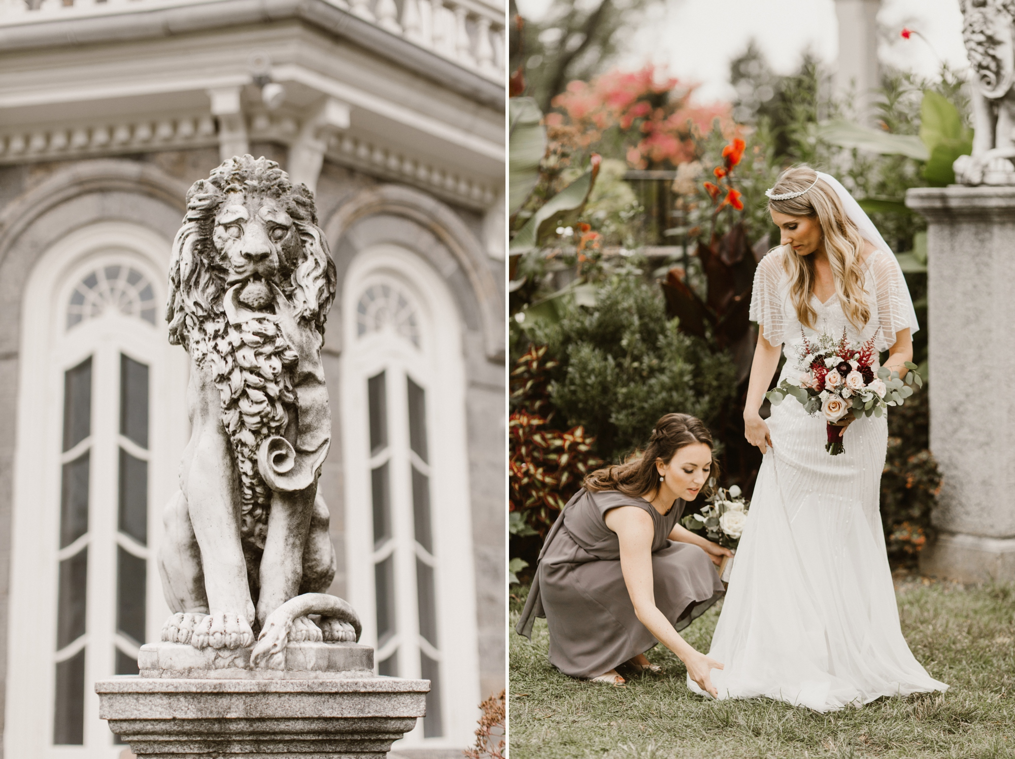 Cylburn Arboretum Wedding | by Baltimore, Maryland Photographer Kate Ann Photography | Outdoor Ceremony