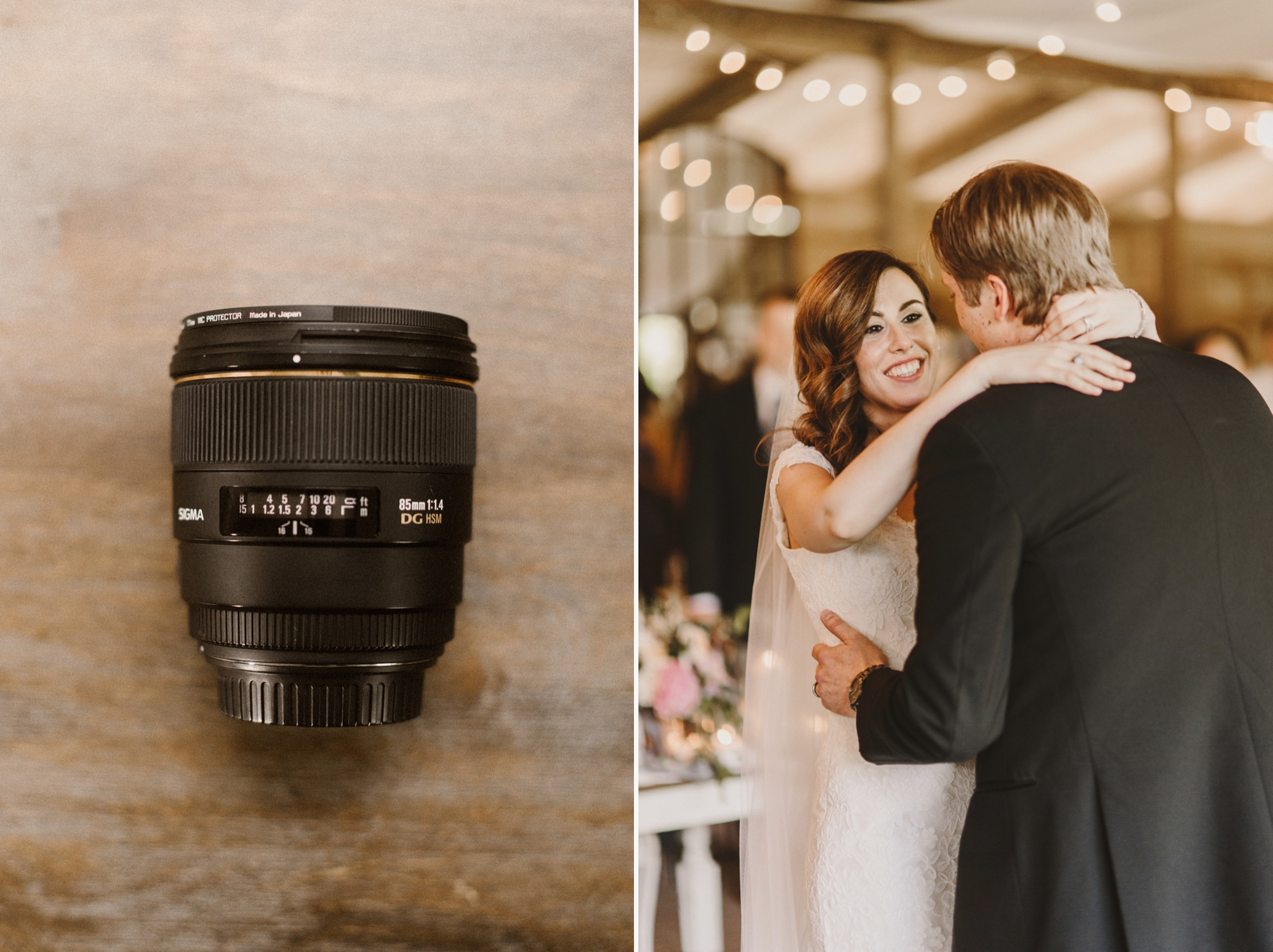 Maryland wedding photographer educational blog post | camera gear bag | best canon lenses for wedding photography