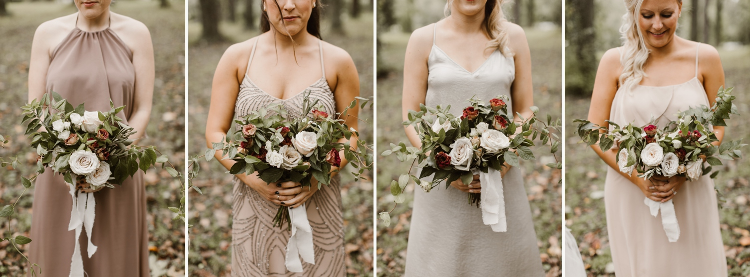 Baltimore wedding photographer outdoor Maryland wedding ceremony   forest earthy Annapolis wedding   outdoors bridal portraits