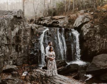sundas-and-scott-panfinal-_baltimore-washington-d-c-waterfall-kilgore-engagement-session-maxi-dress-earthy-maryland-wedding-photographer-kate-ann-photography-photo