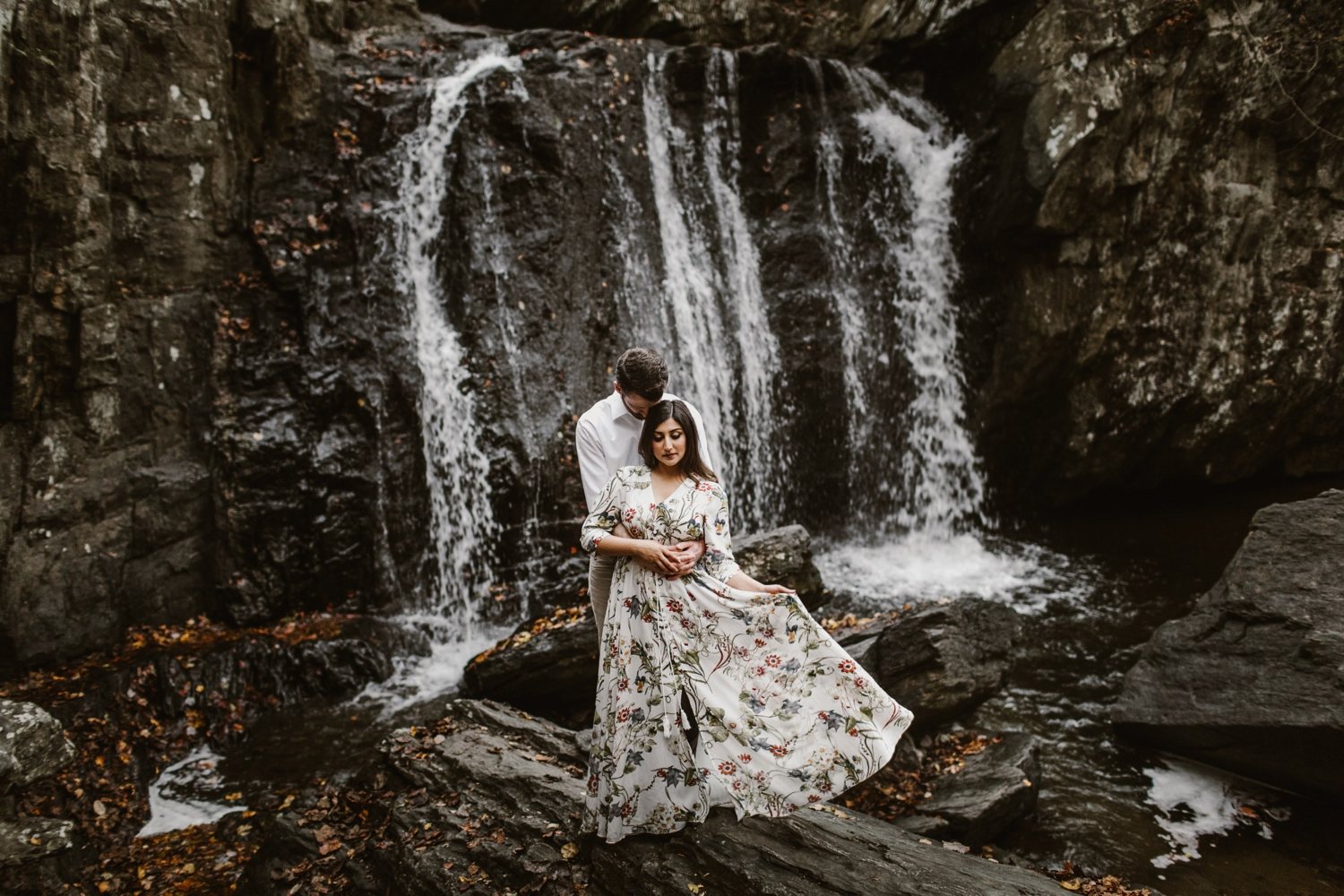 sundas-and-scotts-engagement-98_baltimore-washington-d-c-waterfall-kilgore-engagement-session-maxi-dress-earthy-maryland-wedding-photographer-kate-ann-photography-phot