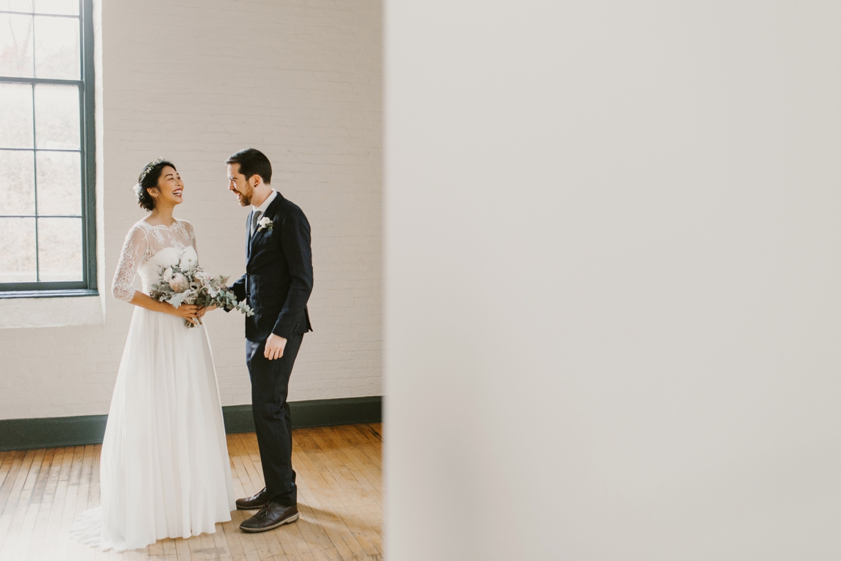 Baltimore Maryland Church & Company Wedding | Bohemian Indie Folk duo tie the knot in the city | by Washington, D.C. Photographer Kate Ann Photography