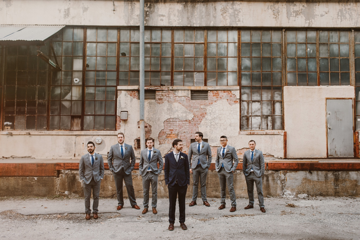 Baltimore Maryland Church & Company Wedding | Groomsmen | by Washington, D.C. Photographer Kate Ann Photography