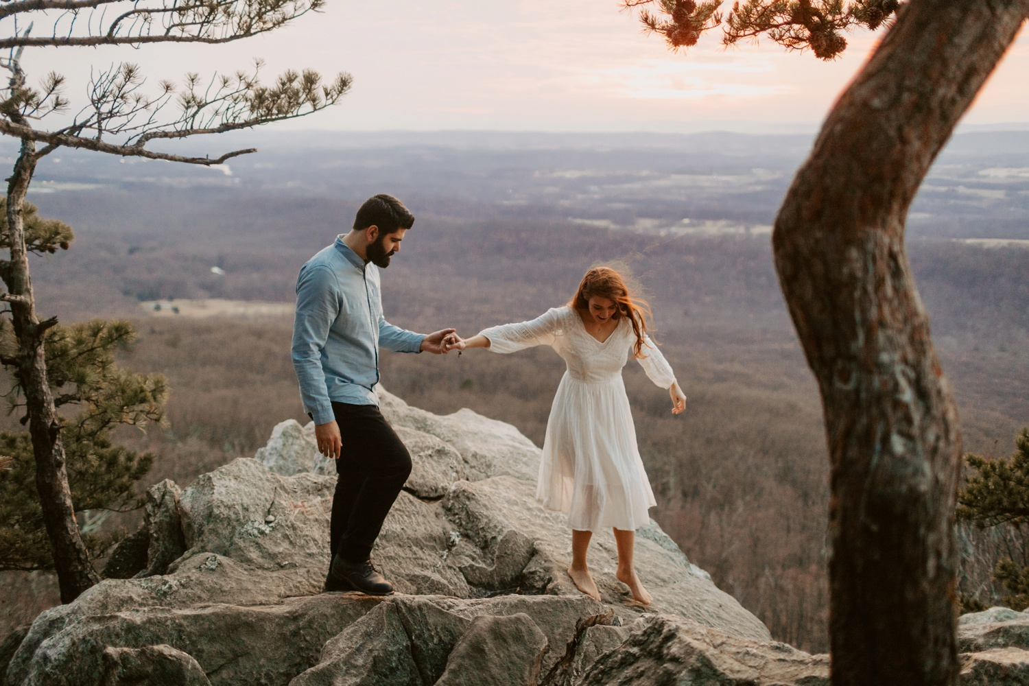 sugarloaf mountain Maryland mountain engagement photography Baltimore Maryland wedding photographer