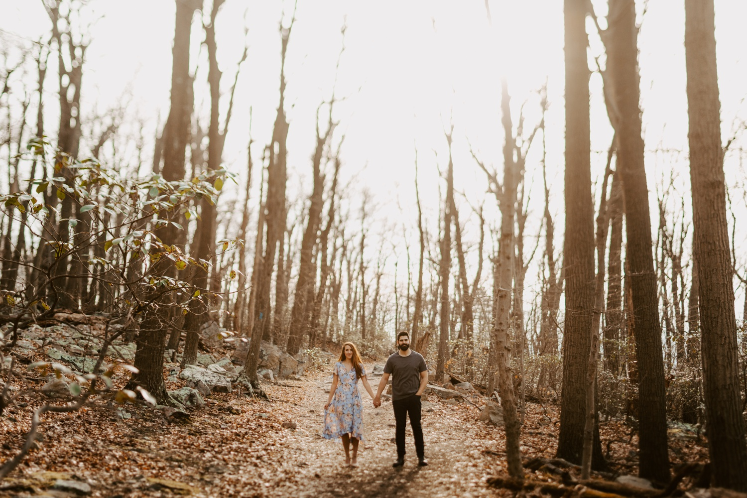 Maryland mountain engagement photography Baltimore Maryland wedding photographer