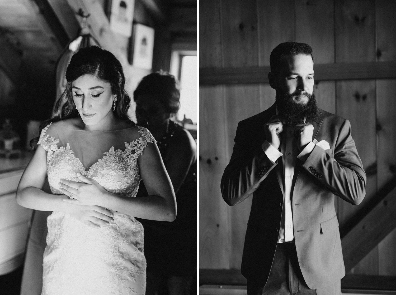 Thousand Acre Farms wedding Delaware wedding photographer | bride and groom wedding portraits