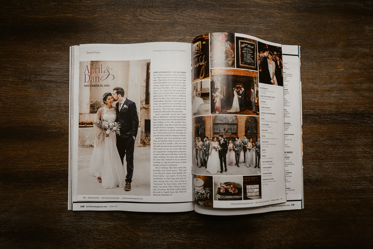 Baltimore Bride Featured Kate Ann Photography