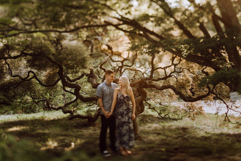 Cylburn Arboretum engagement photography Baltimore engagement photographer