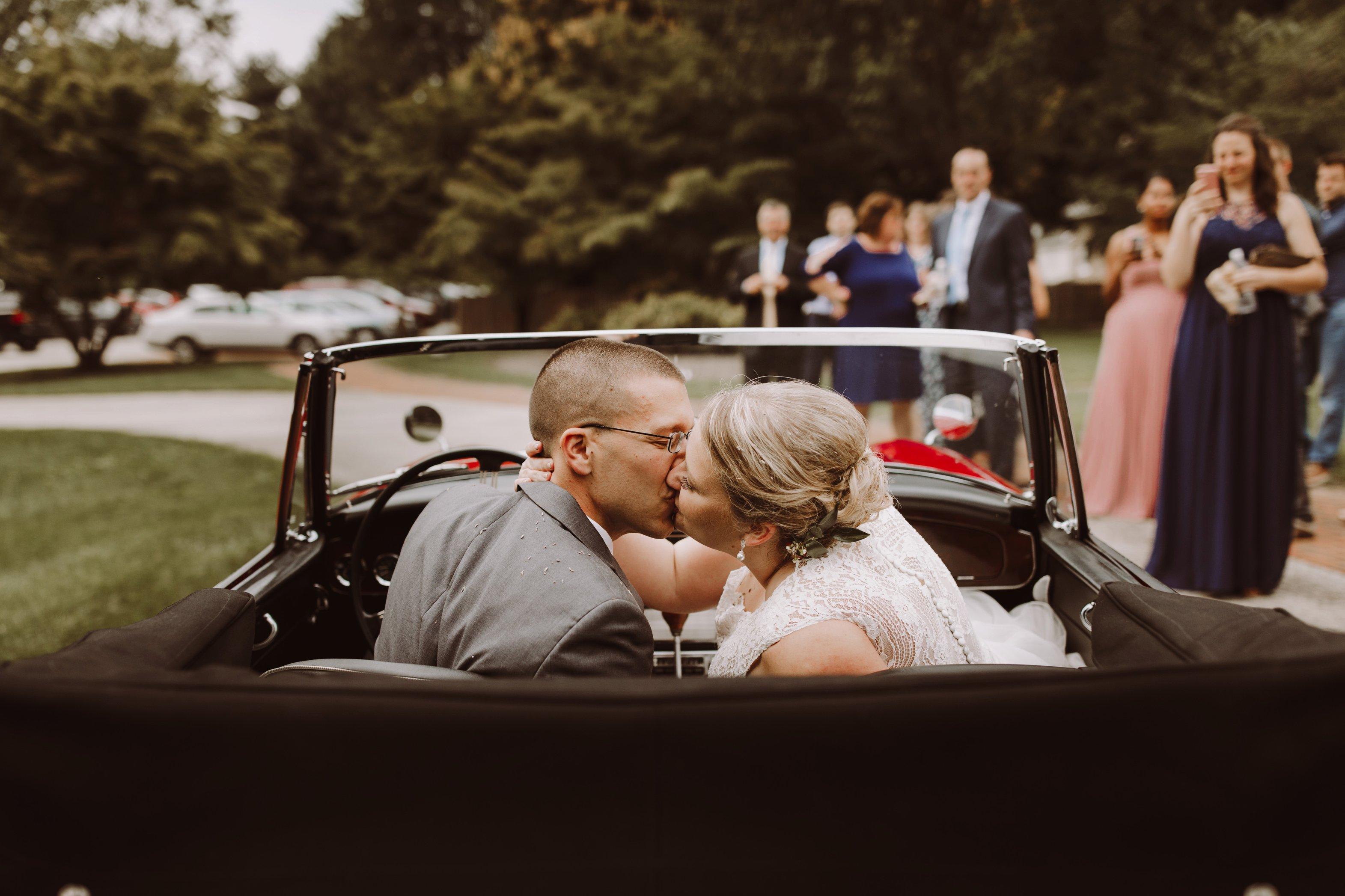 Historic Waverly Mansion intimate outdoor wedding reception Baltimore Maryland wedding photographer