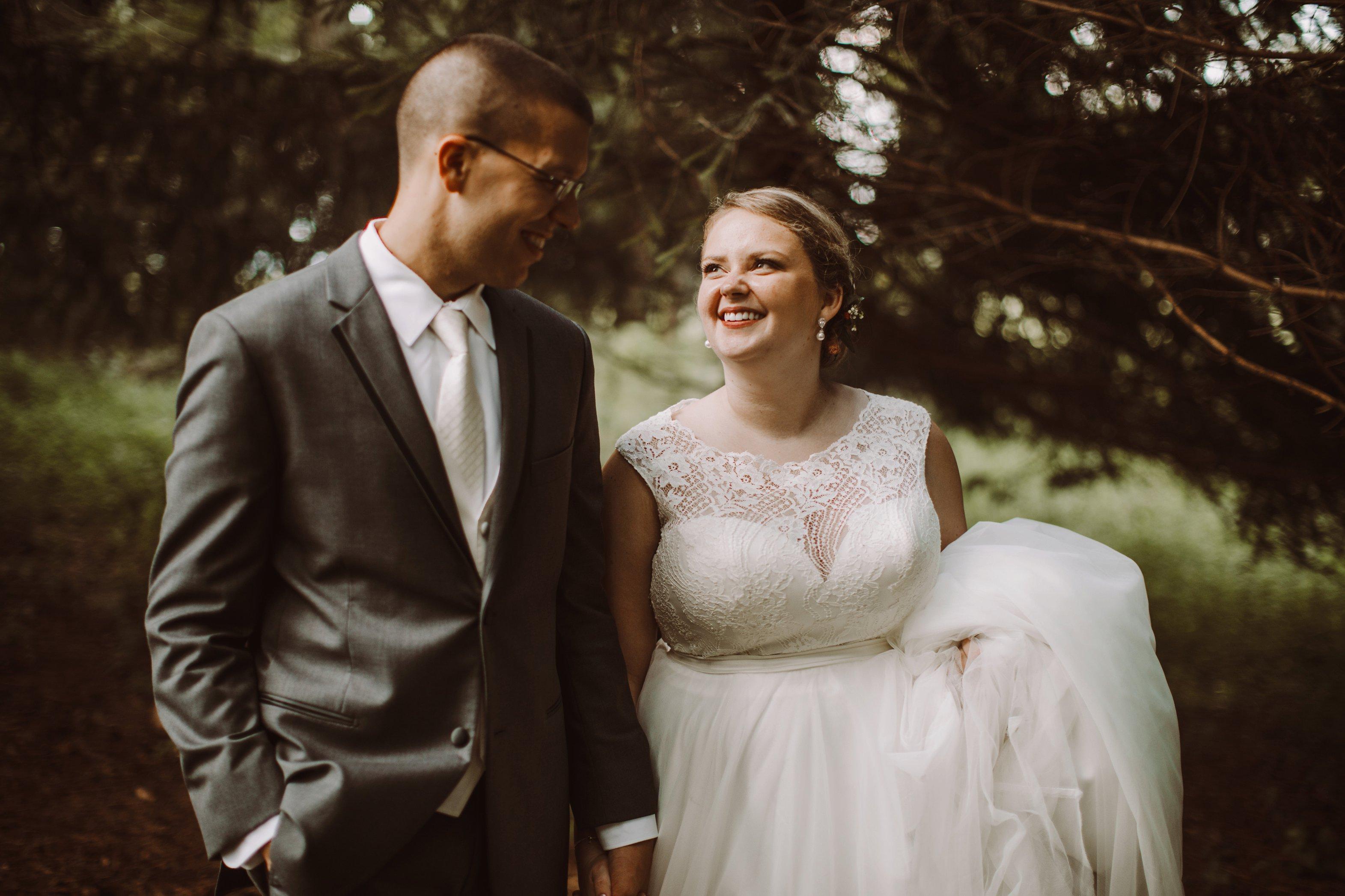 Historic Waverly Mansion intimate outdoor wedding photography Baltimore Maryland wedding photographer