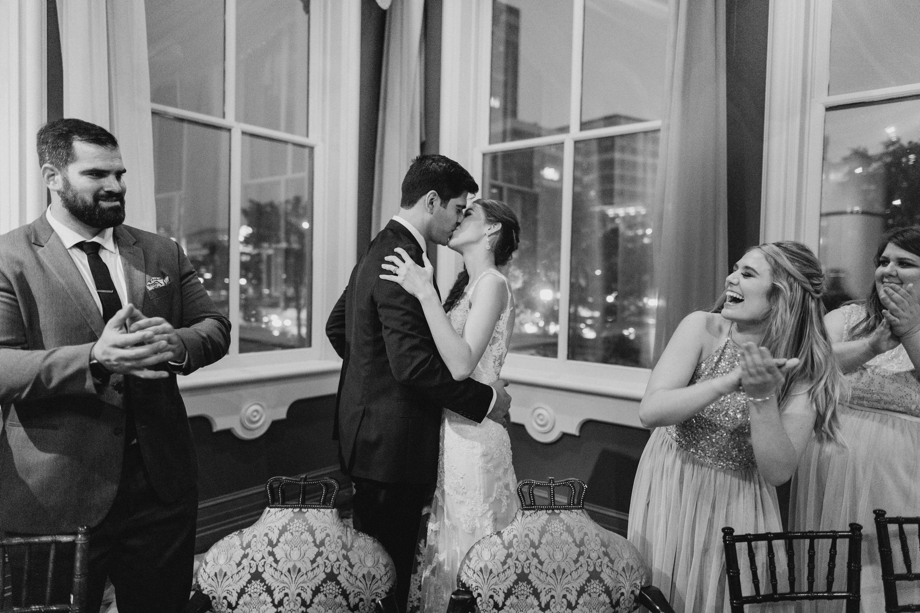 1840s Ballroom wedding reception Baltimore Maryland wedding photographer