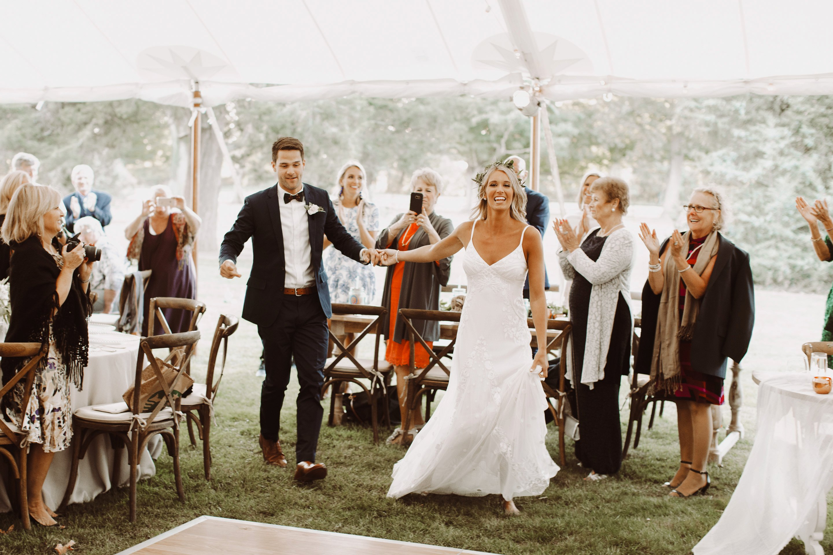Whitehall Annapolis outdoor wedding ceremony Annapolis wedding photographer