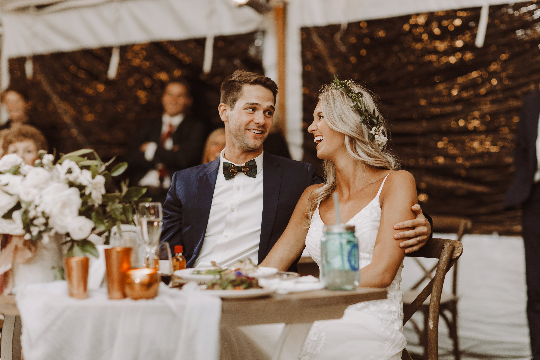 Whitehall Annapolis outdoor wedding reception