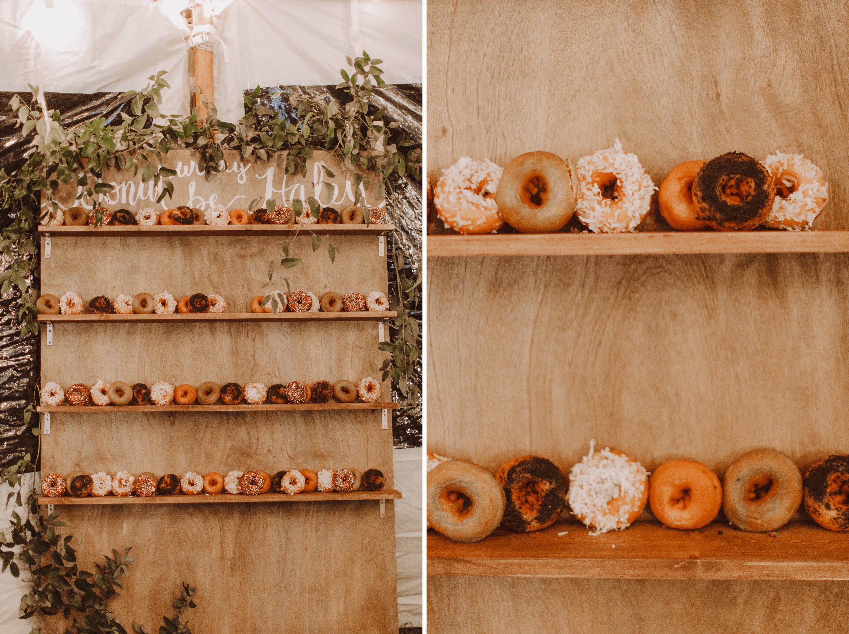 Sandy Pony donuts wedding reception dessert