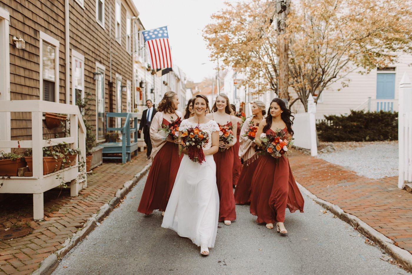 Downtown Annapolis USNA wedding bridesmaids Annapolis wedding photographer