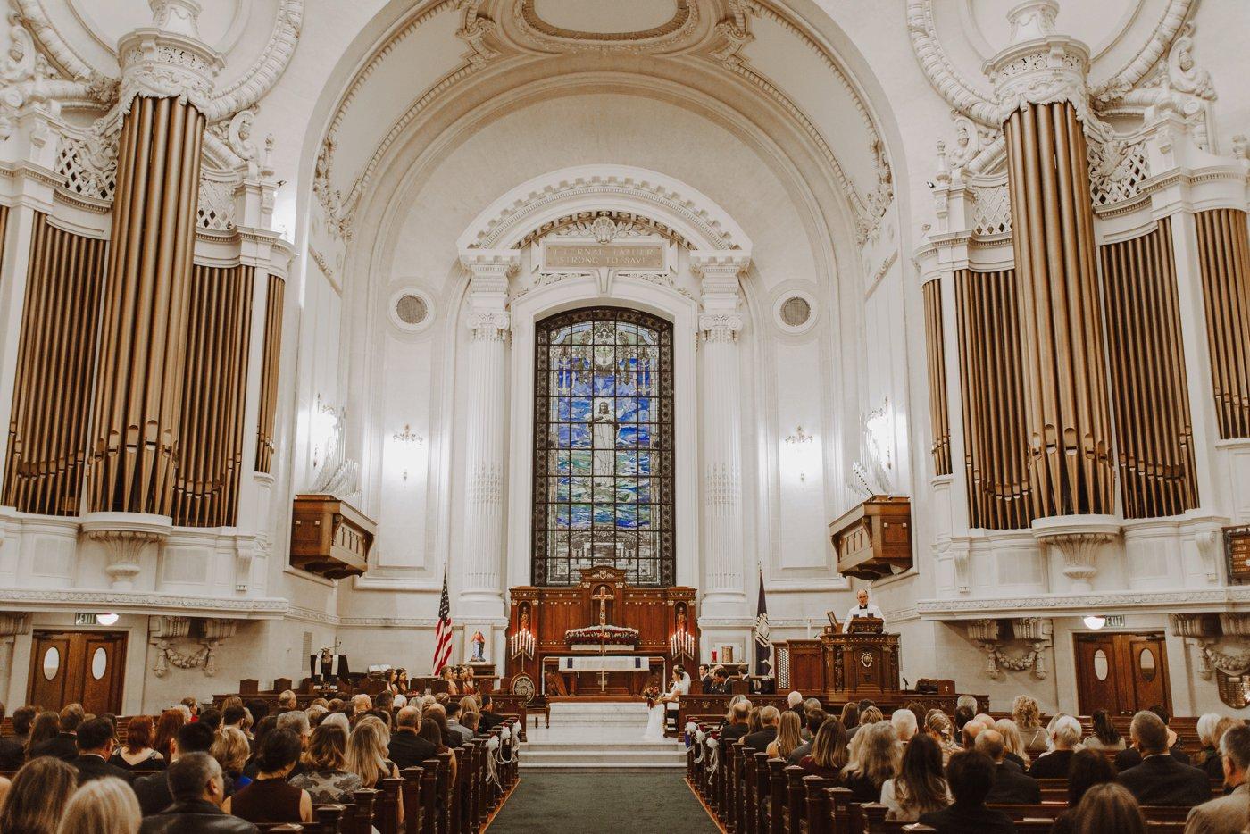 USNA chapel wedding ceremony Downtown Annapolis Maryland photographer