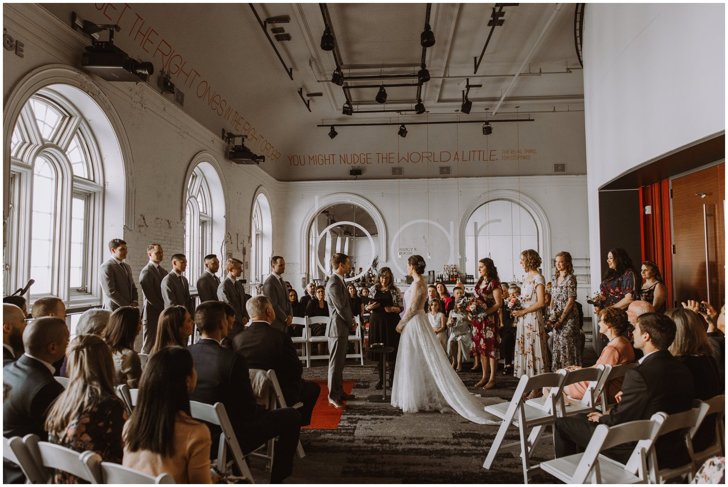 Baltimore Center Stage wedding baltimore city wedding photographer