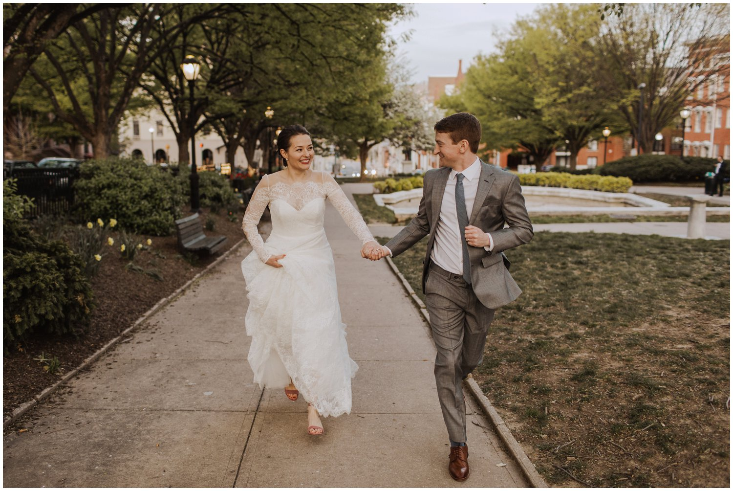 Mount Vernon church chapel Baltimore City wedding photographer
