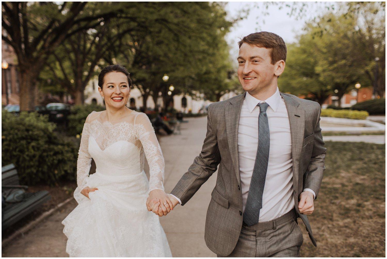 Mount Vernon Baltimore City wedding photographer