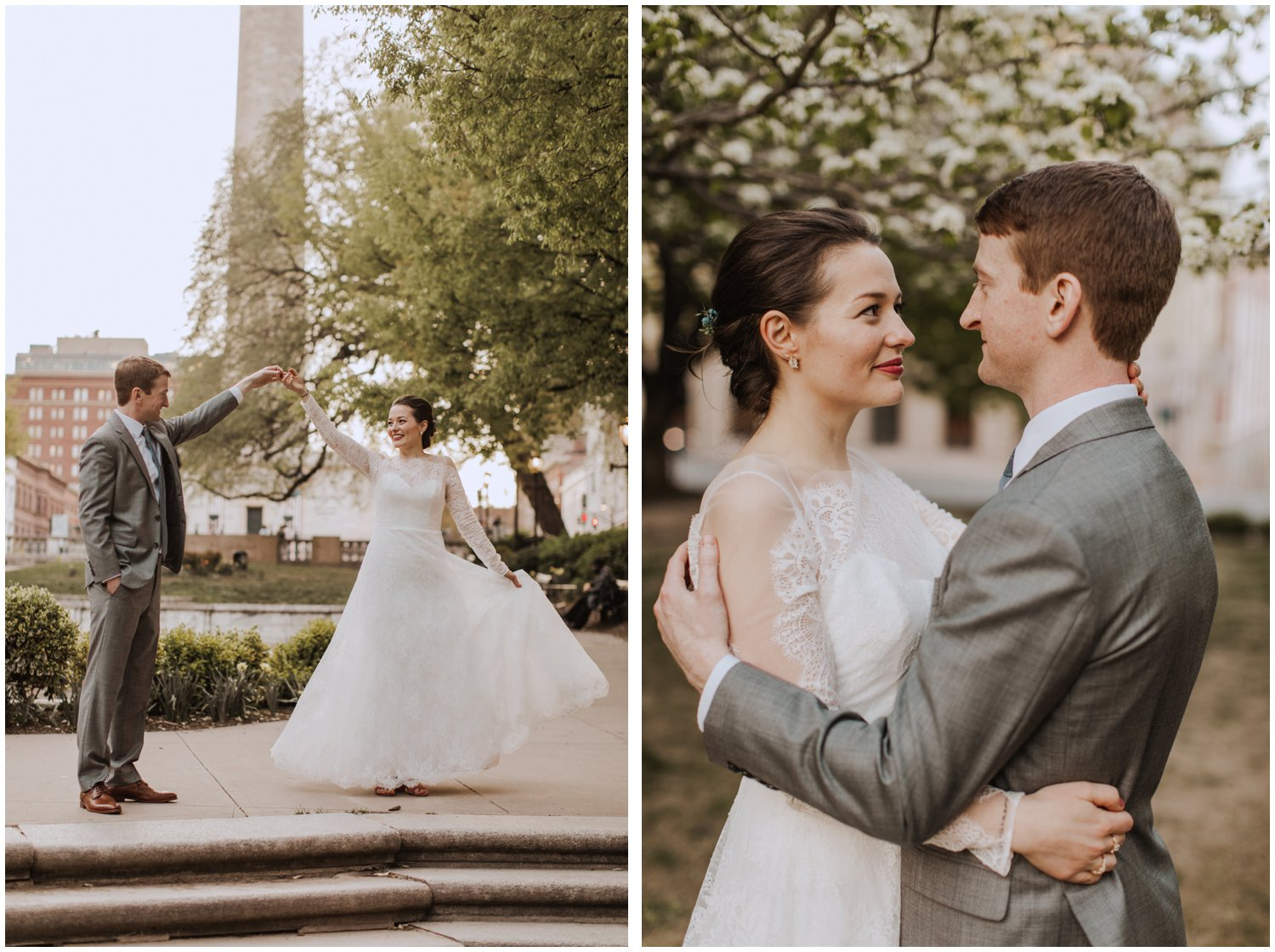 Mount Vernon Baltimore City wedding photographer