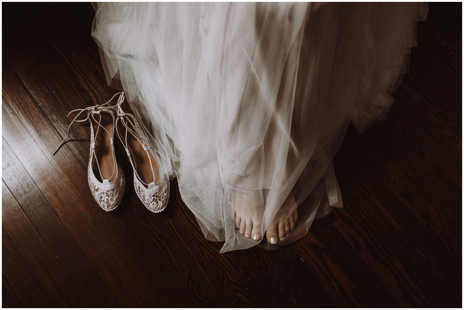 Anthropologie wedding shoes BHLDN gown Annapolis wedding photographer