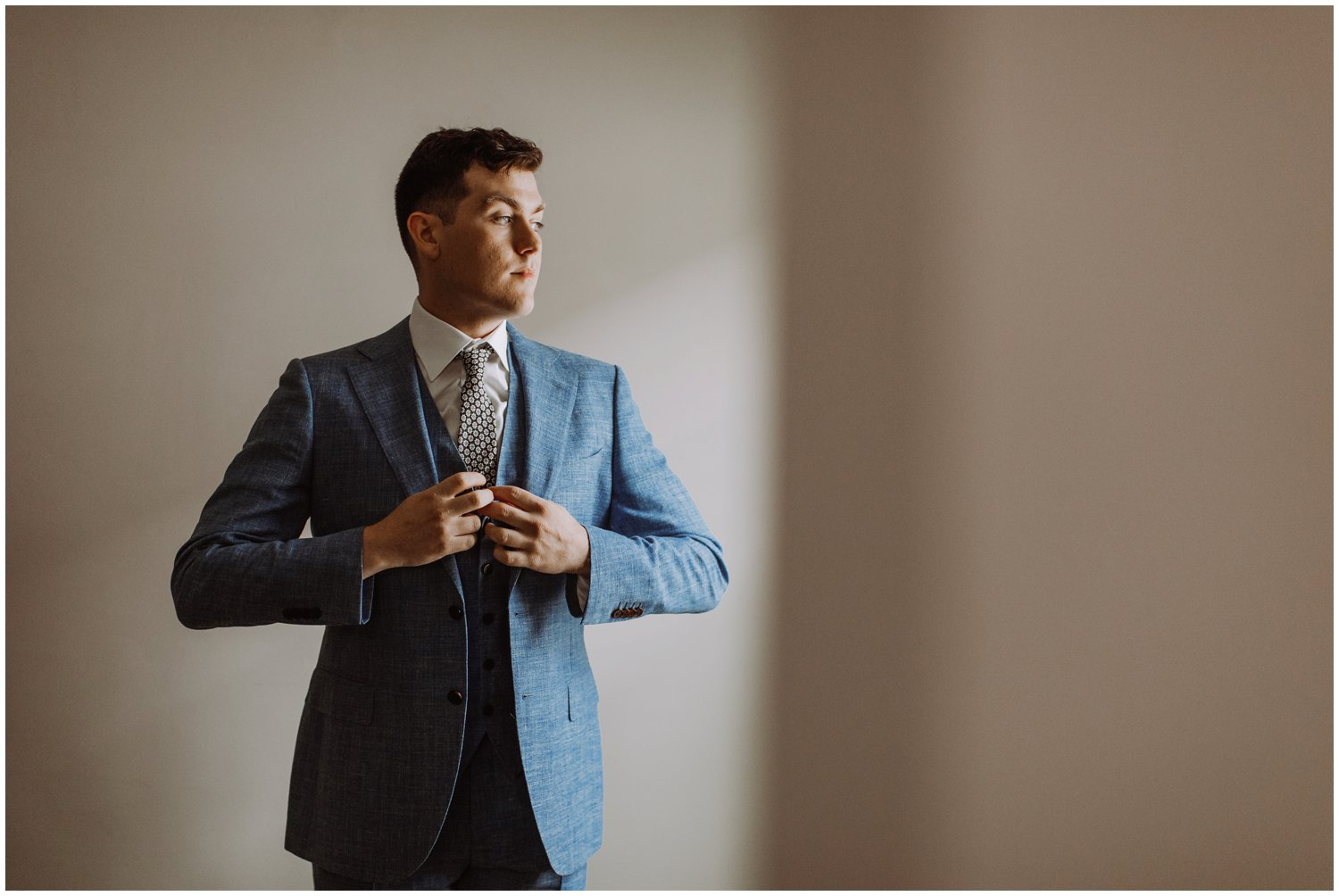 Suitsupply wedding groom