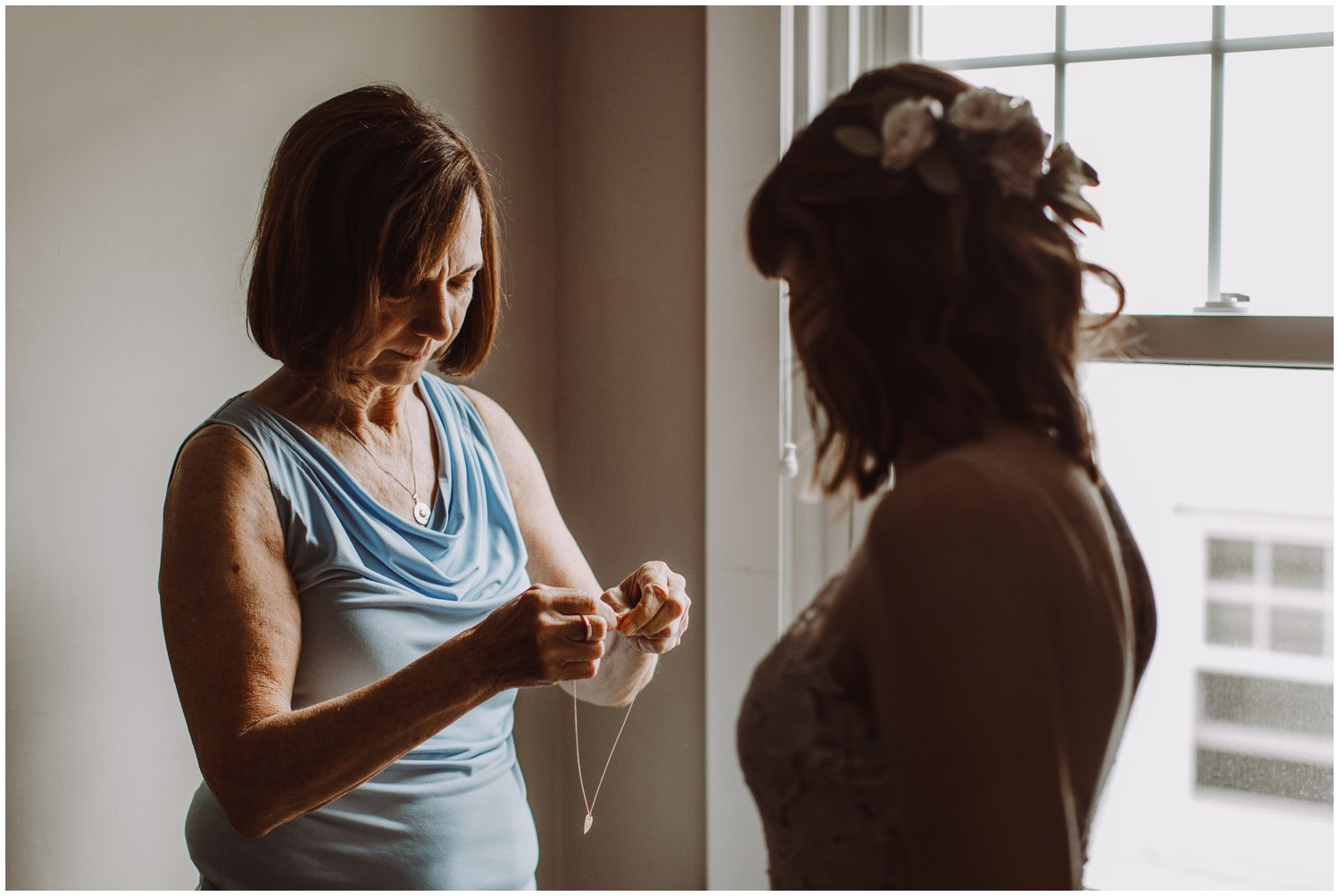 emotional intimate wedding Annapolis wedding photographer