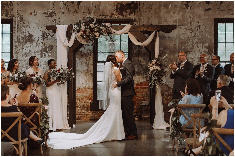 Baltimore wedding photographer   Mt Washington Mill Dye House wedding ceremony   Baltimore Maryland wedding